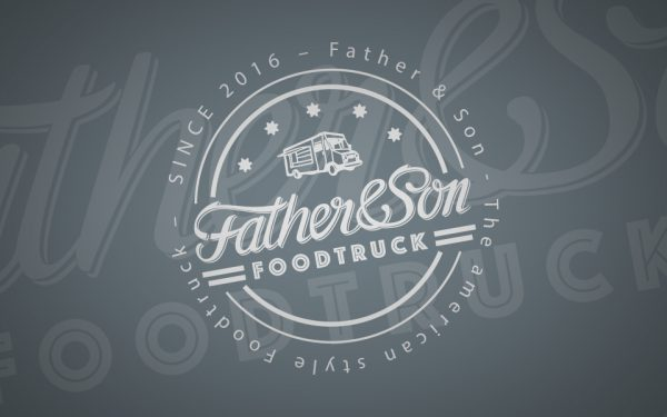 """Corporate Design """"Father&Son"""" Foodtruck"""