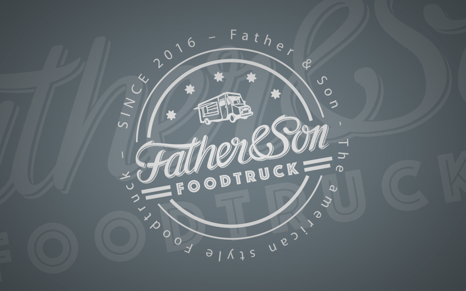 "Corporate Design ""Father&Son"" Foodtruck"