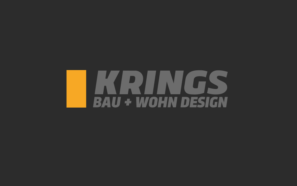 Corporate Design KRINGS Bau+Wohn Design