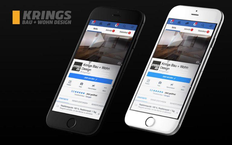 Social Media KRINGS BAU+WOHN DESIGN GMBH