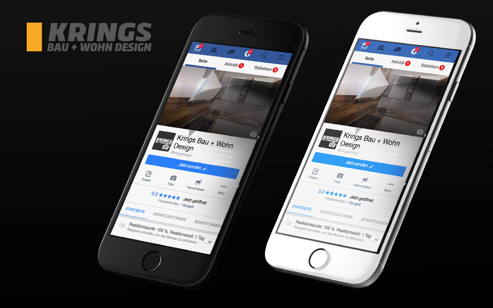 Social Media KRINGS BAU+WOHN DESIGN GMBH