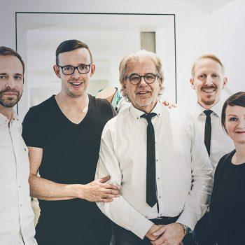 Gruppenfoto zum Abschluss der Fotosession zum Relaunch der Website