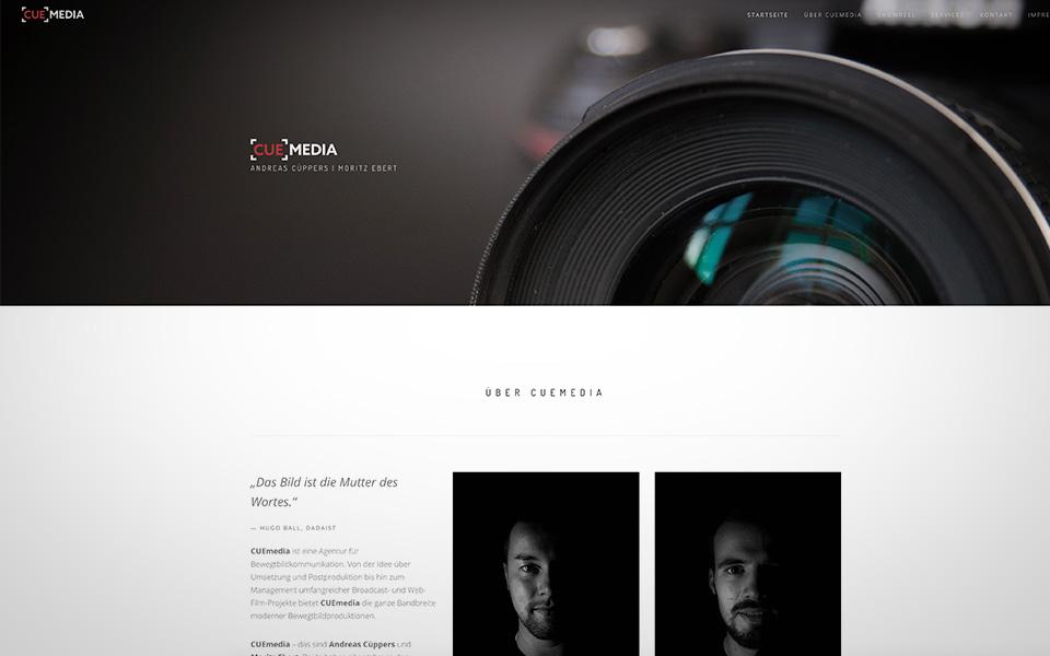 Webseiten und Webentwicklung CUEmedia