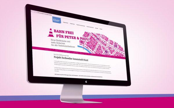 Webseiten und Webentwicklung Eschweiler Innenstadt Nord