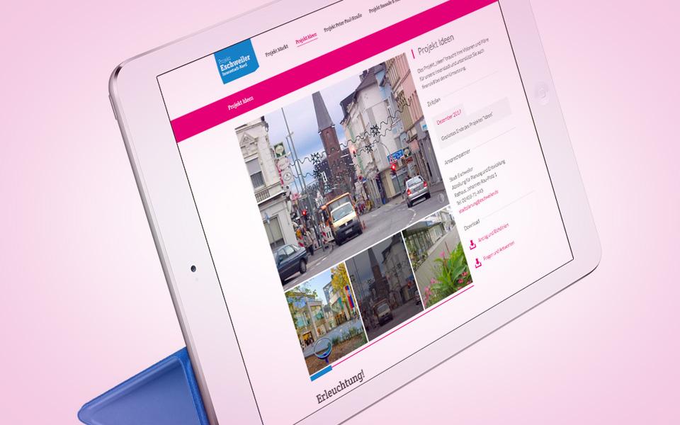 Webdesign und Webentwicklung Eschweiler Innenstadt Nord
