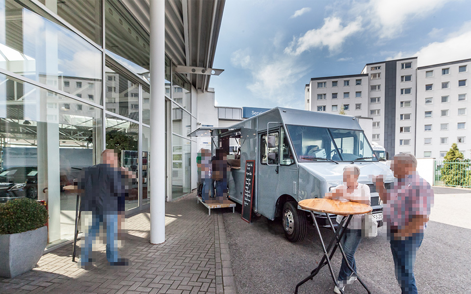 Fotografie Father & Son Foodtruck Event Catering BÄHR