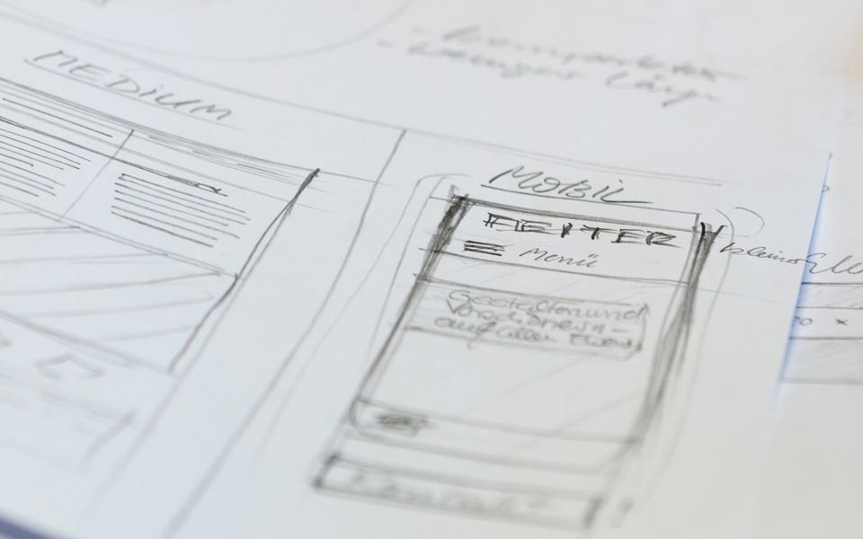 Webseiten und Webentwicklung Konzeption Feiter Betonsteinwerke GmbH