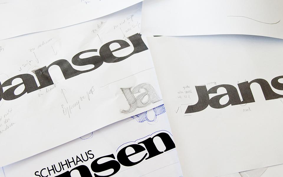 Corporate Design Schuhhaus Jansen