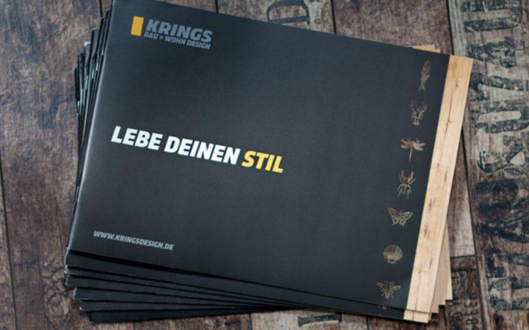 Printmedien KRINGS BAU+WOHN GmbH