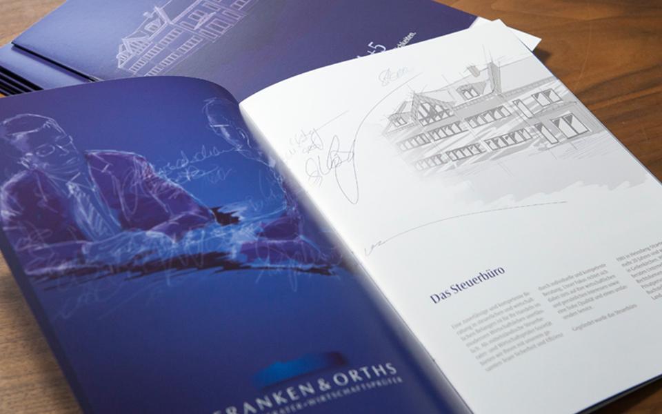 Printmedien Franken&Orths Steuerbüro