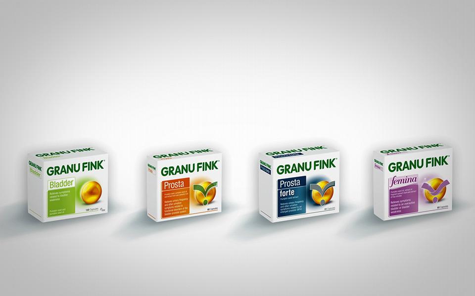 Videoproduktion GRANUFINK Omega Pharma, Packshots