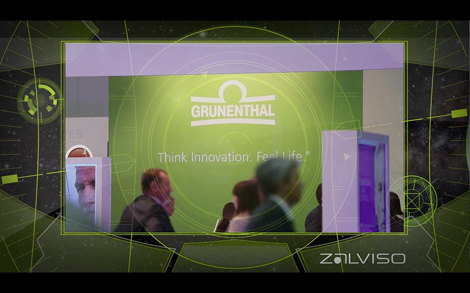 Videoproduktion ZALVISO Grünenthal GmbH