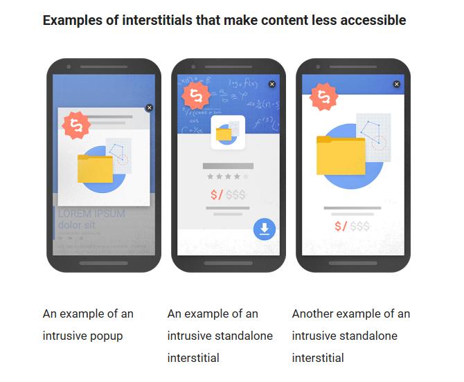 Großformatige Werbanner auf mobilen Oberflächen will Google nicht mehr sehen.