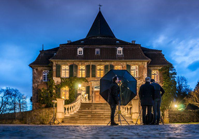 Unsere Treppe bei Nacht. (© Orths Medien GmbH)