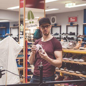 Markus hat den Schuh fürs Leben gefunden. (© Orths Medien GmbH)