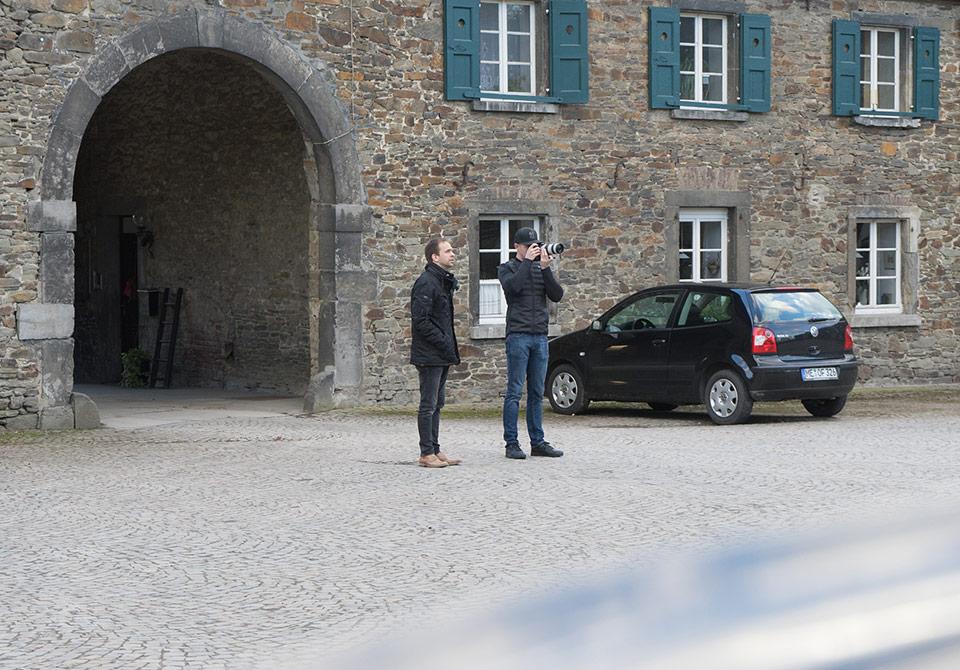 Ralf und Markus sondieren die Lage. (© Orths Medien GmbH)