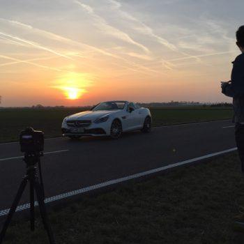 Aufbau für das finale Shooting. (© Orths Medien GmbH)