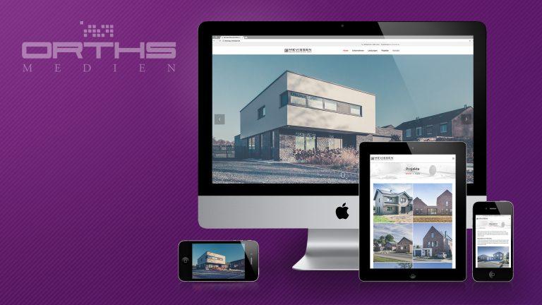 Neuer Digitalauftritt für Mevissen-Bau. (© Orths Medien GmbH)