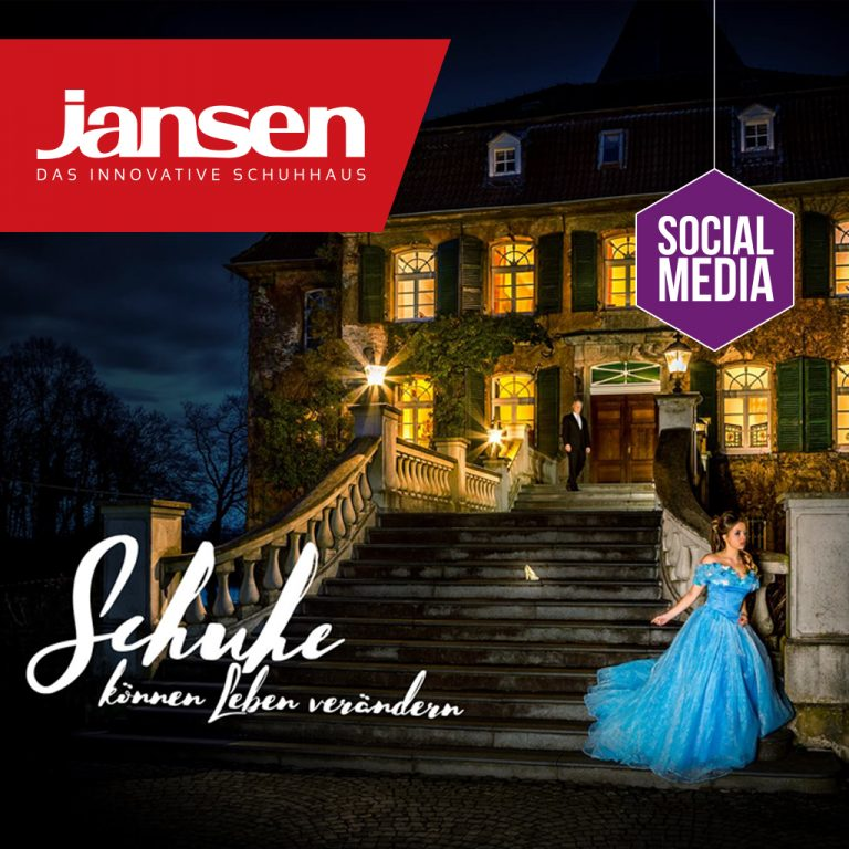Schuhhaus Jansen, Social Media Marketing