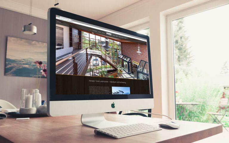 Webseiten und Webentwicklung KRINGS BAU+WOHN DESIGN GmbH