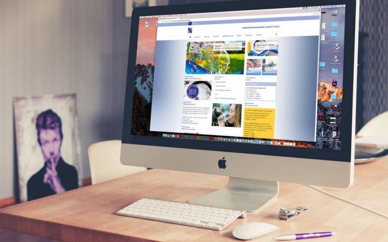 Webseiten und Webentwicklung Wasserwerk Gangelt GmbH