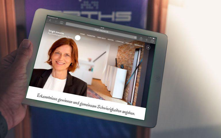 Webentwicklung Birgit Meures