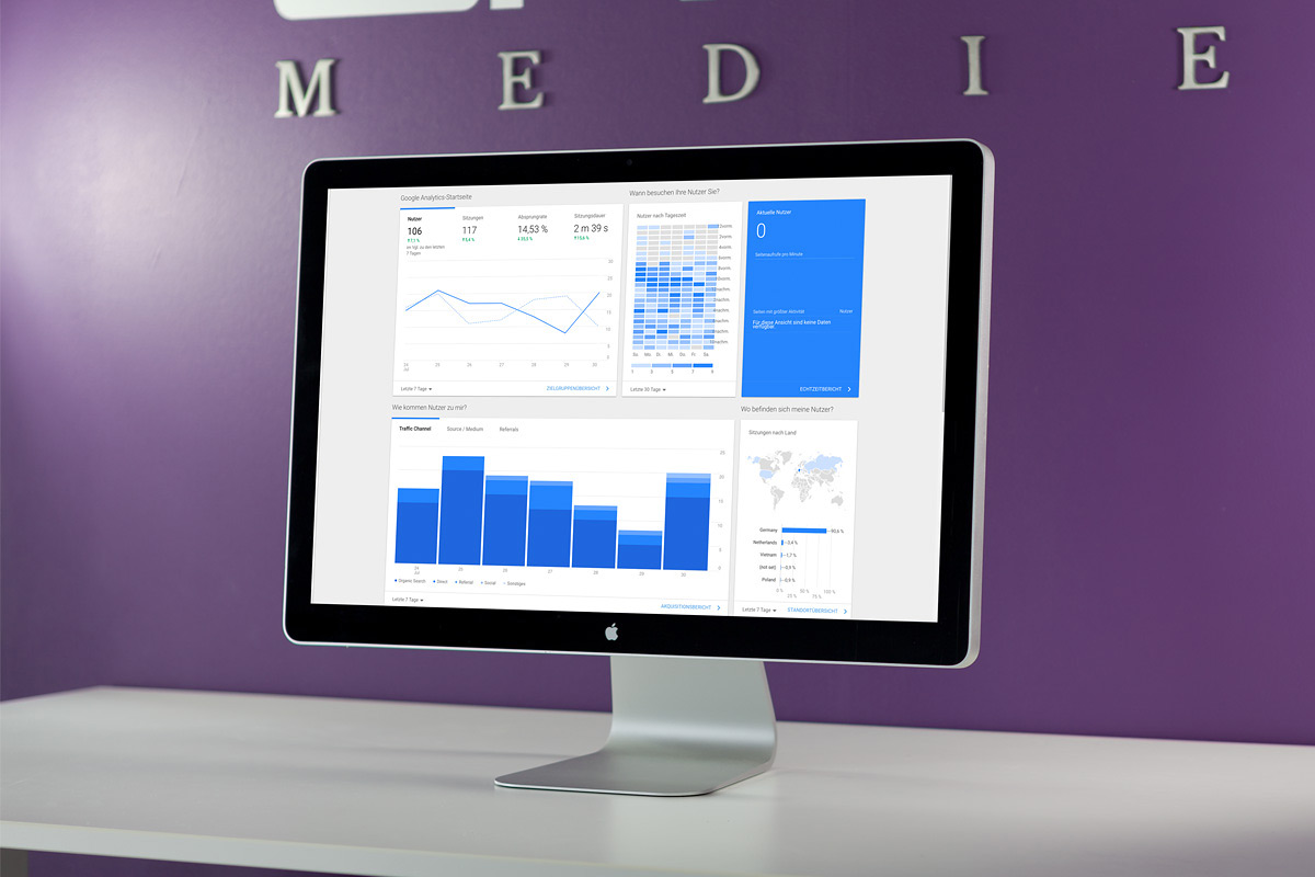 Eine Uebersicht über die Leistung von Social Media Ads