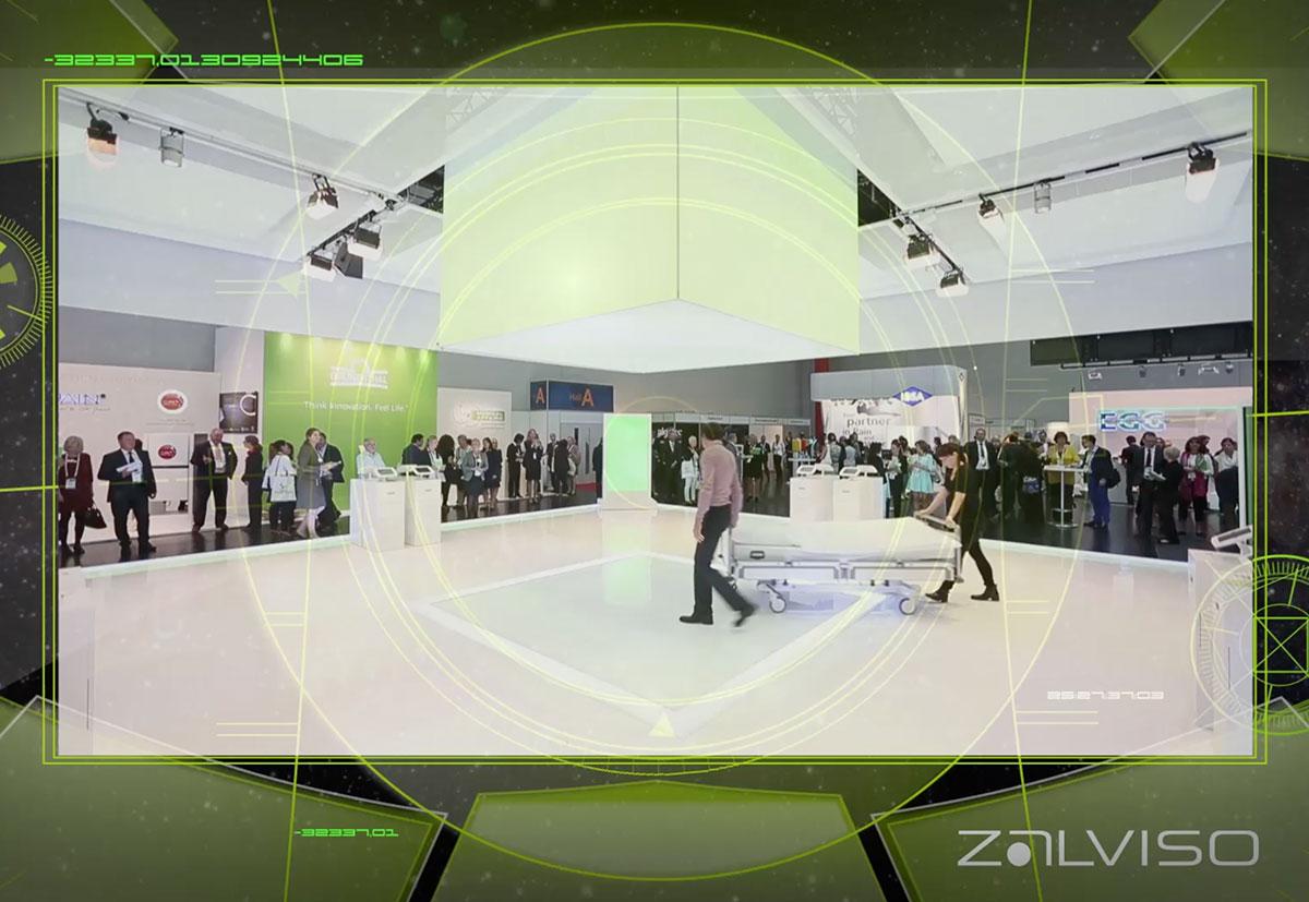 Ein Screenshot eines Imagefilms von der Firma Zalviso