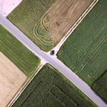 Lennard ist ein Freund von moderner Agrar-Kunst. (© Orths Medien GmbH)
