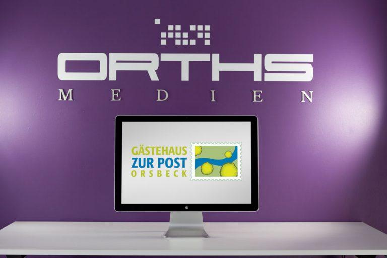 Logo Entwicklung Gästehaus zur Post