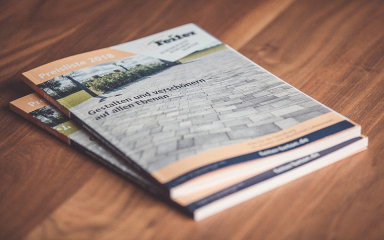 Printmedien Feiter Betonsteinwerk GmbH – Katalog