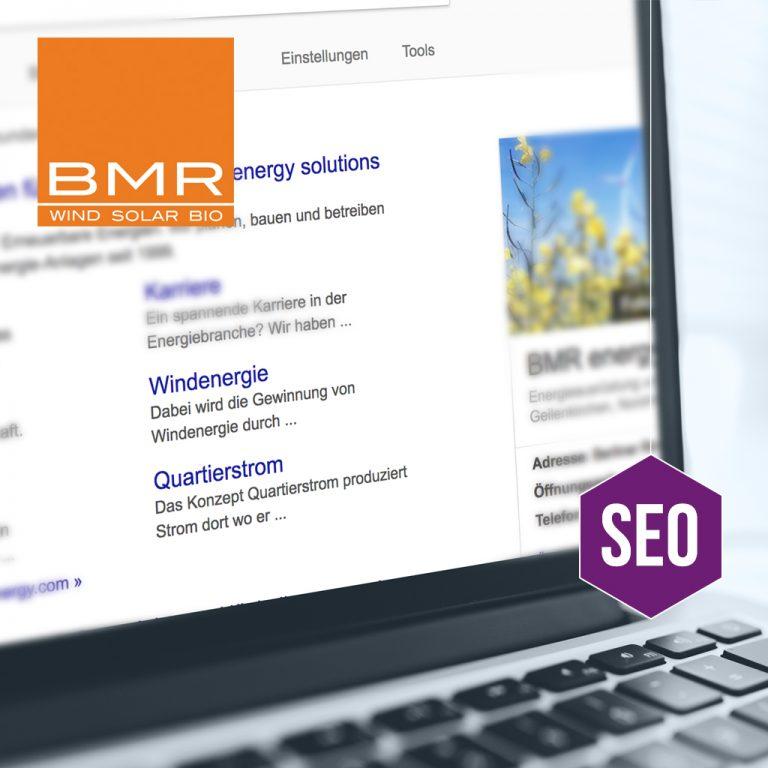 Suchmaschinenoptimierung BMR energy solution GmbH