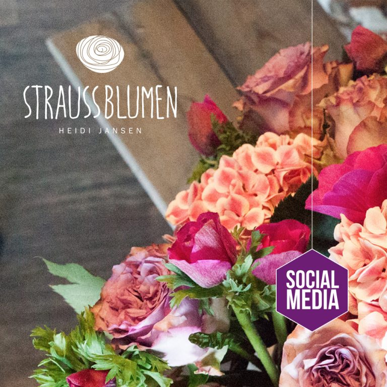 straussblumen, Social Media Marketing