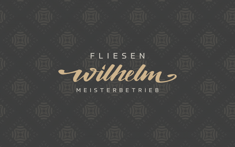 Corporate Design: Fliesen Wilhelm