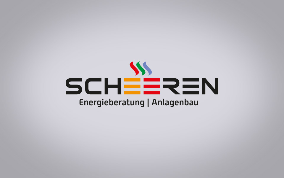 Scheeren, Orths Medien Logo Entwicklung