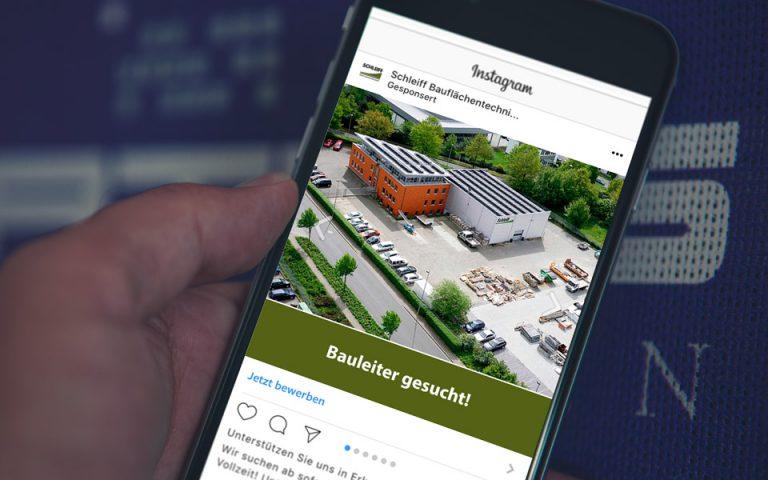Schleiff GmbH, Social Media Recruiting