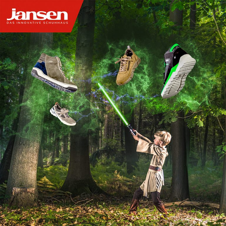 "Social Media Marketing Kampagne Schuhhaus Jansen ""Kinder"""