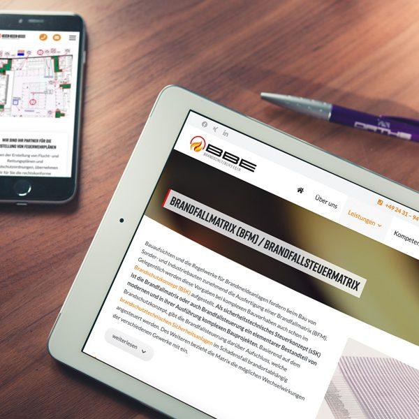 Natürlich punktet die Website ebenfalls auf mobilen Endgeräten. (© Orths Medien GmbH)