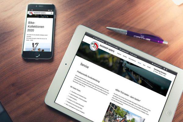 Das Update der Website lässt natürlich auch auf mobilen Endgeräten die Herzen von Drahtesel-Jockeys höher schlagen (© Orths Medien GmbH)