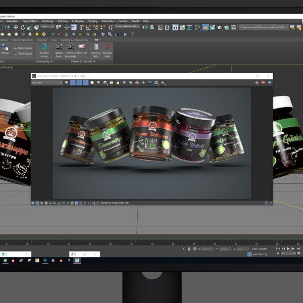 Das Modelling für das Retail-Desgin entsteht auf dem Computer (© Orths Medien GmbH)
