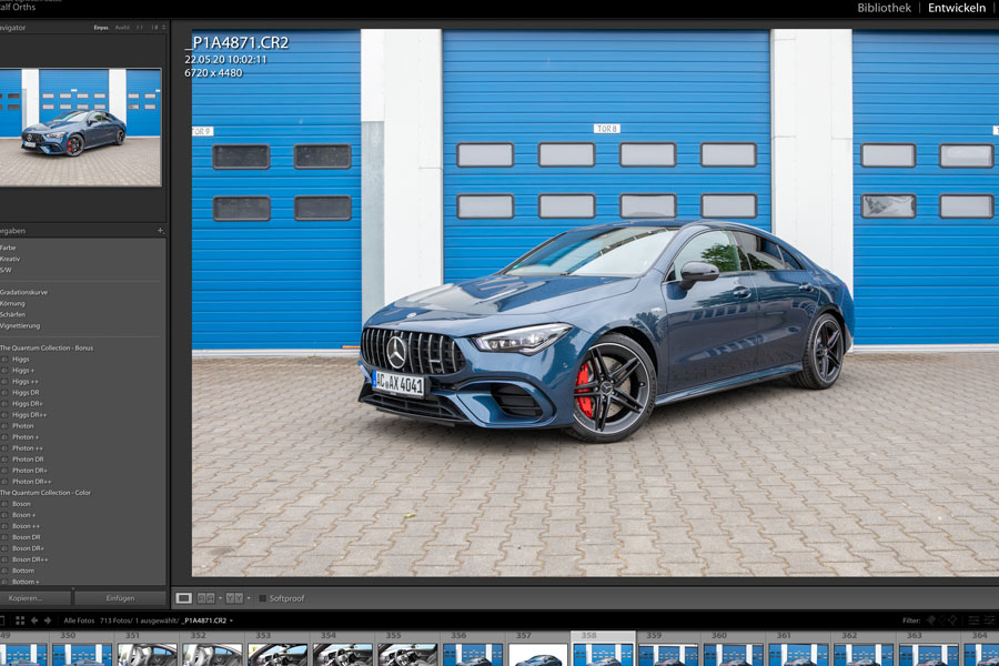 AMG CLA 45 Coupe - Fotografie - Composing - Orths Medien