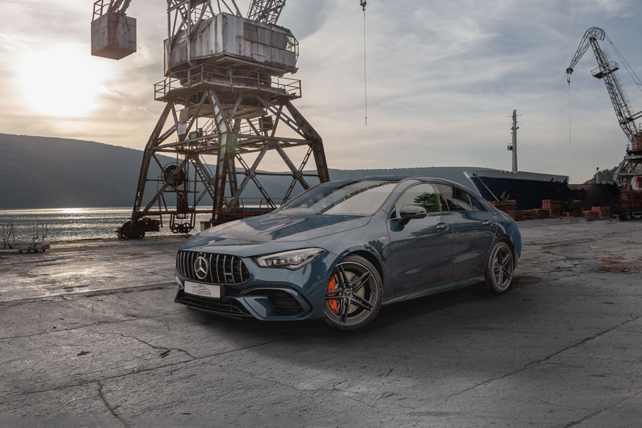 AMG 45s CLA Coupe - Fotografie - Composing - Orths Medien