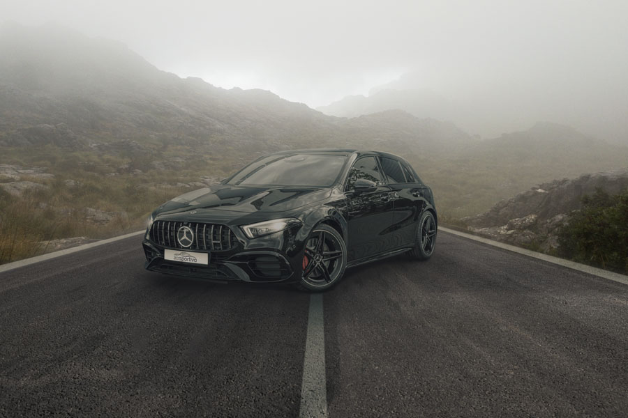 AMG A45s - Fotografie - Composing - Orths Medien