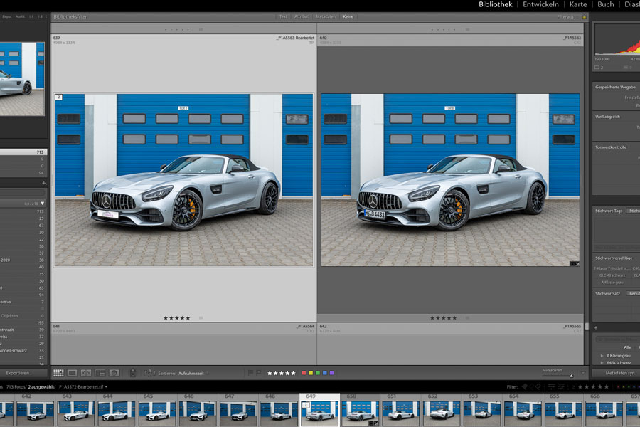 AMG GTC - Fotografie - Composing - Orths Medien