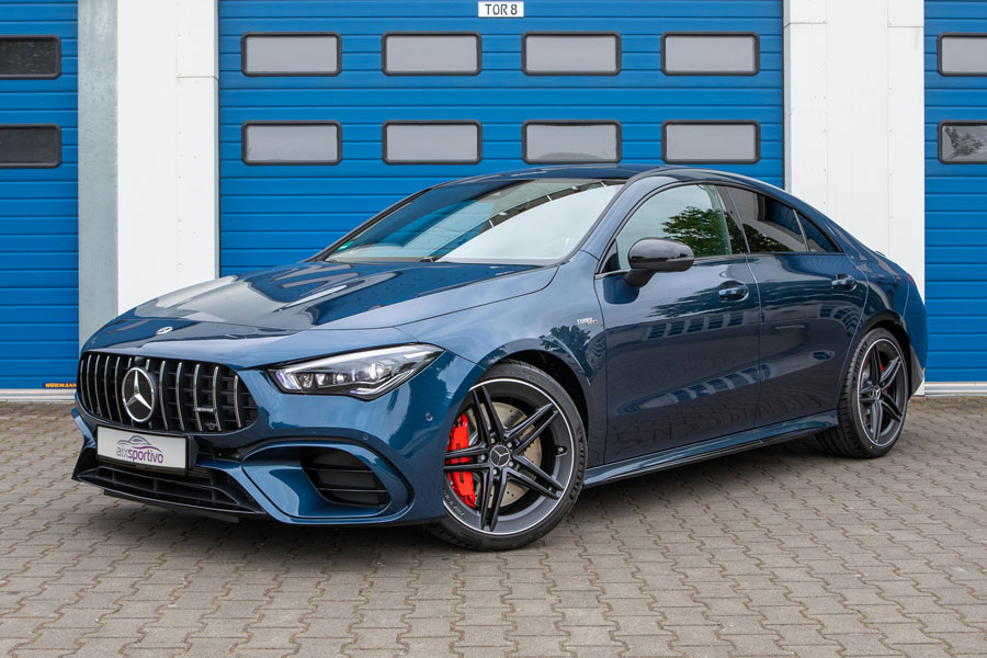 AMG CLA Coupe 45s Aixsportivo - Fotografie - Orths Medien