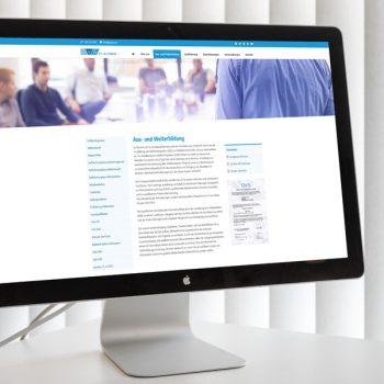 Die neue Website des TC-Kleben (© Orths Medien GmbH)