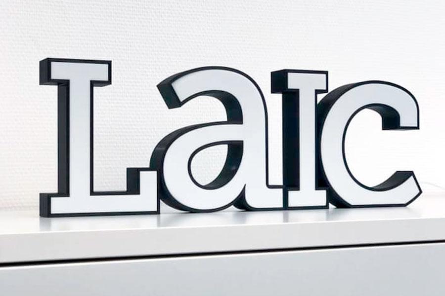 LaIc Druckbuchstaben