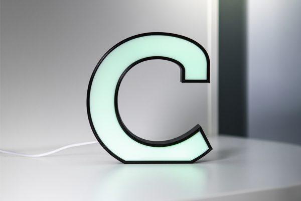 C Druckbuchstabe