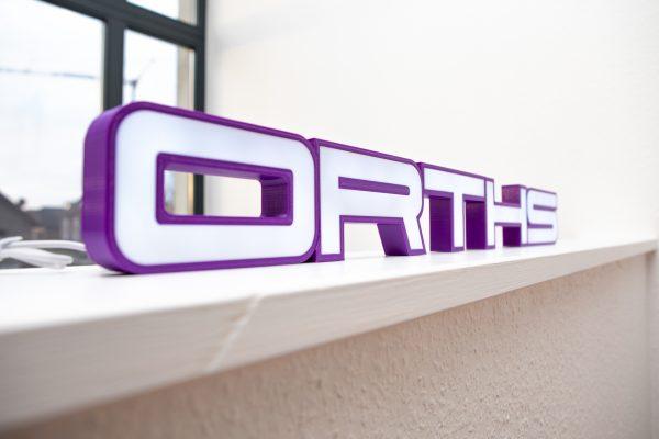 Unser Logo als Druckbuchstabe (© Orths Medien GmbH)